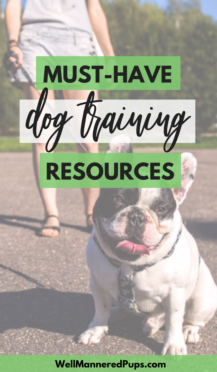 Looking for the best dog training resources? Here is a list of my favorite dog training treats, dog toys for chewers, and dog walking supplies.